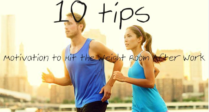 10 tips working out after work pic